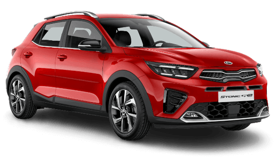 Kia stonic gt line signal red removebg preview